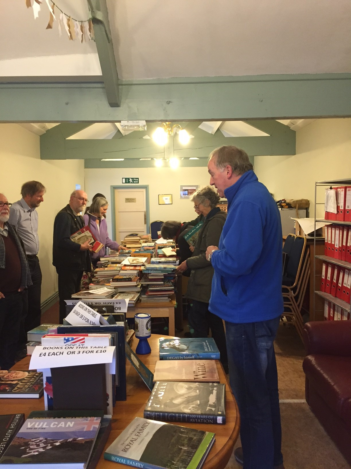 Book Sale at Peterborough Arms