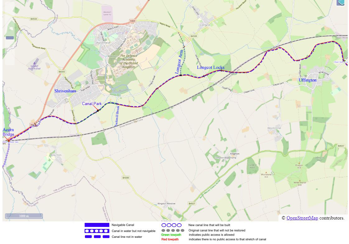 West Vale Map a
