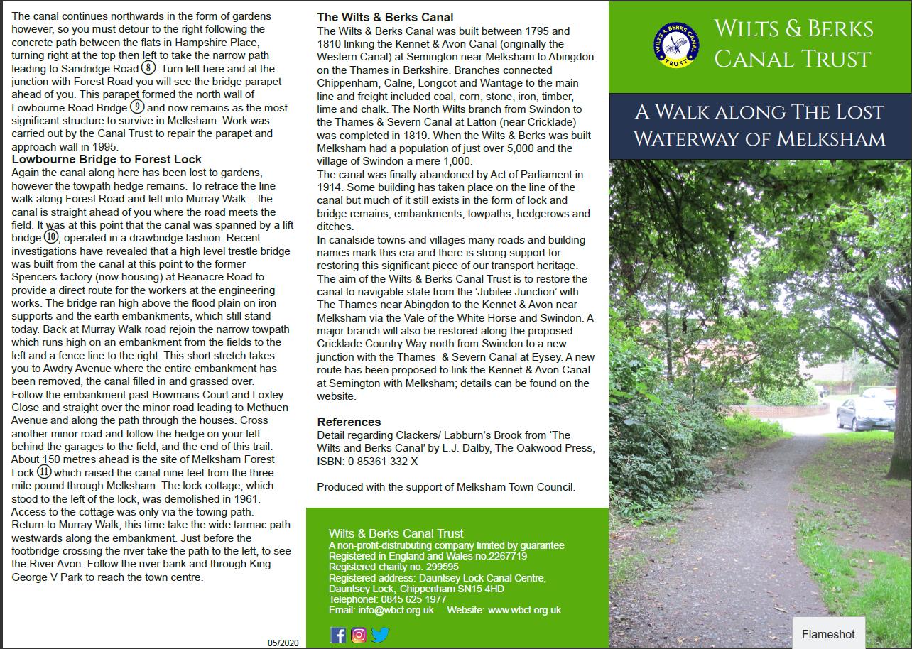 Melksham Lost Waterway