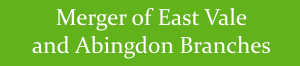 Merger of East Vale and Abingdon